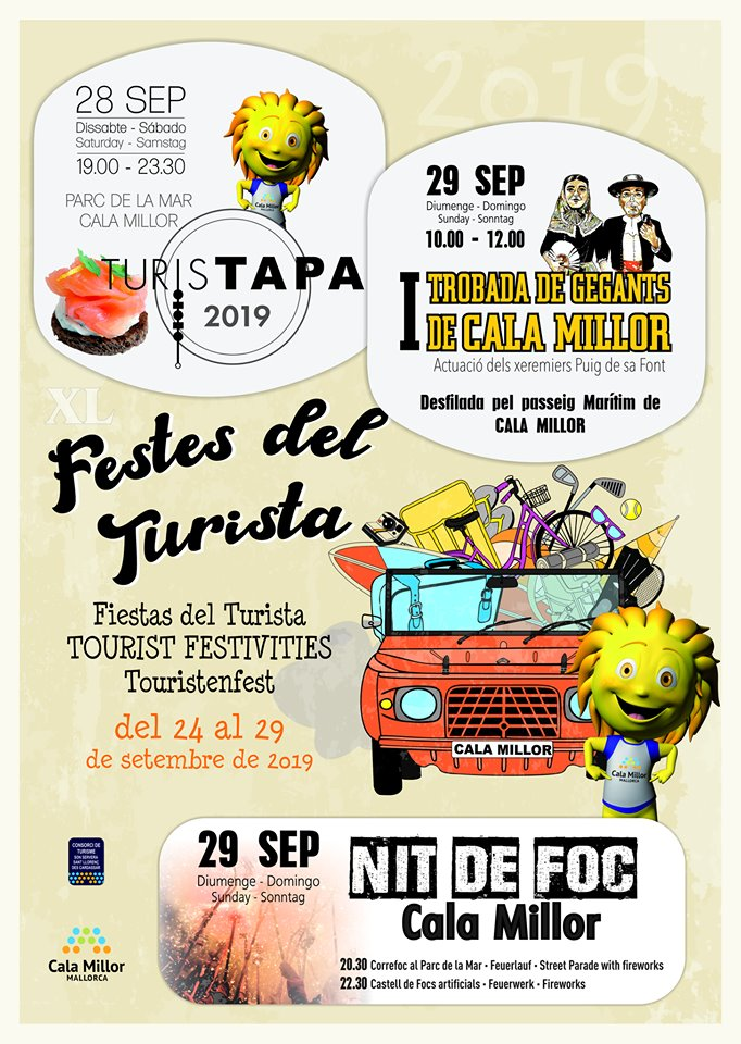 Touristenfest in Cala Millor
