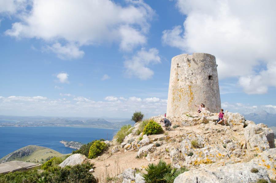Torre d'Albercutx am Cap de Formentor